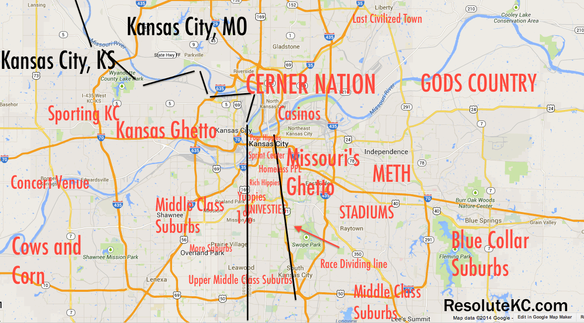 Honest Map of Kansas City | Resolute KC on missouri state road map, worlds of fun map, hd map, hebron ne map, earth city missouri map, kl map, na map, compromise of 1820 map, paul map, great plains usa map, de map,